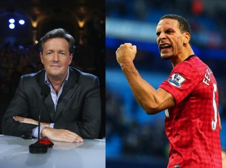 Piers Morgan vs. Rio Ferdinand 1