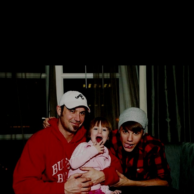Just Bieber With Jazzy & Dad