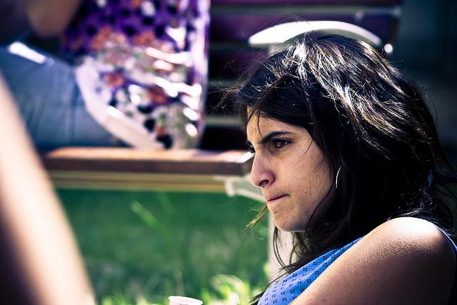 An angry girl (image source)