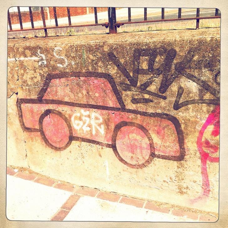 Terrible Examples of Graffiti - Worst Car