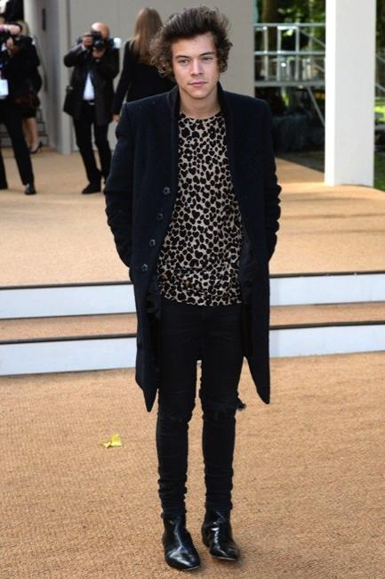 Harry Styles LFW