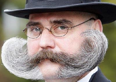 Growing a moustache