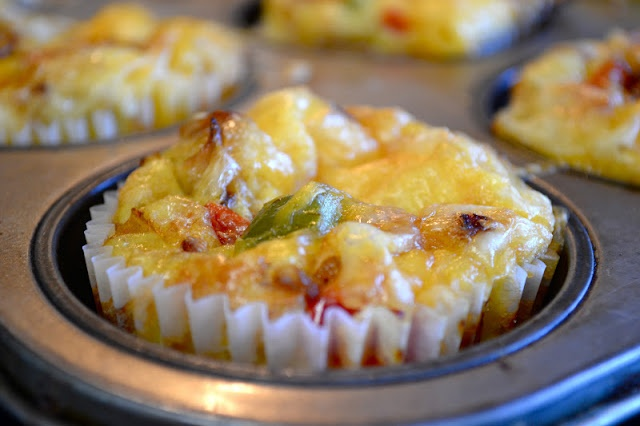Omelet muffin