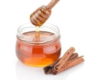 Honey and cinammon