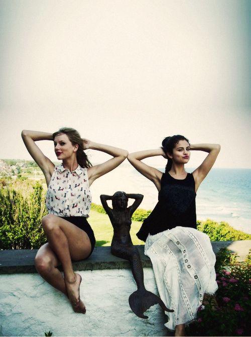 Celebrity BFFs Taylor Swift and Selena Gomez