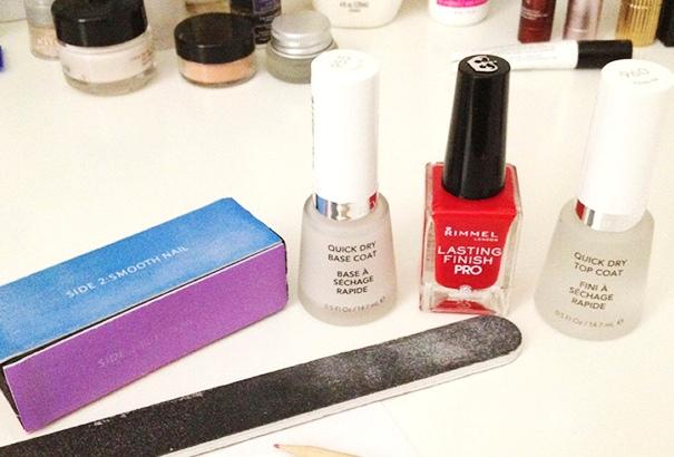 Limit professional manicures