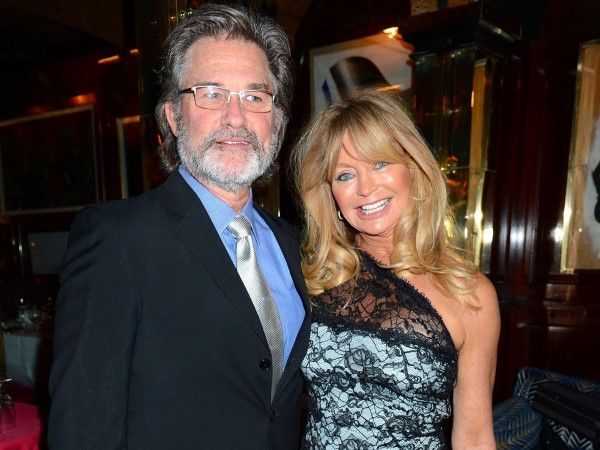 Kurt Russel and Goldie Hawn