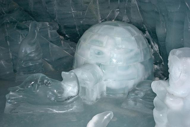 Inside an Igloo