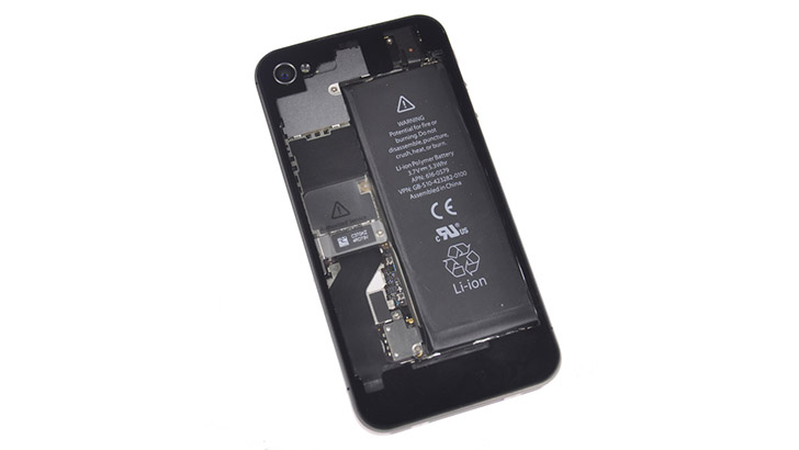 Phone inside