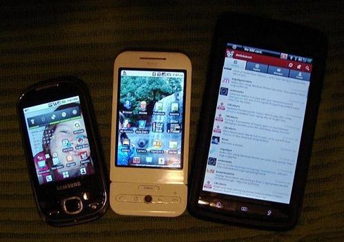 Smartphone sizes