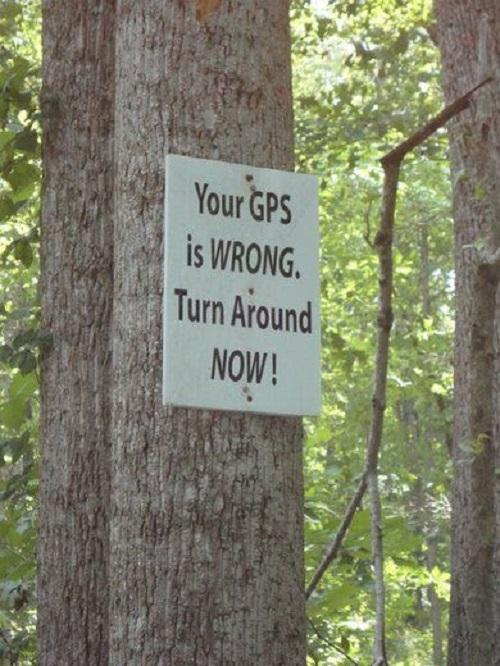 Wrong GPS