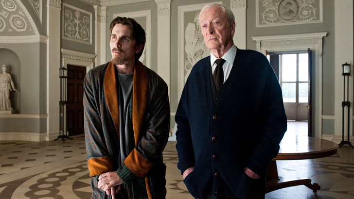 "Christian Bale in ""The Dark Knight"""
