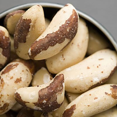 Brazil Nuts - top source of selenium