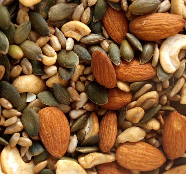 Nuts & Seeds - good source of magnesium