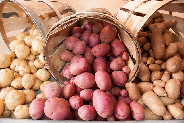 Potatoes fibre