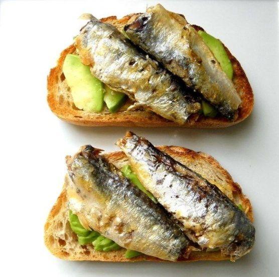 Sardines & Avacados - Omega-3