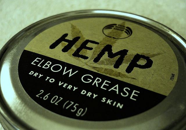 One hemp body care product