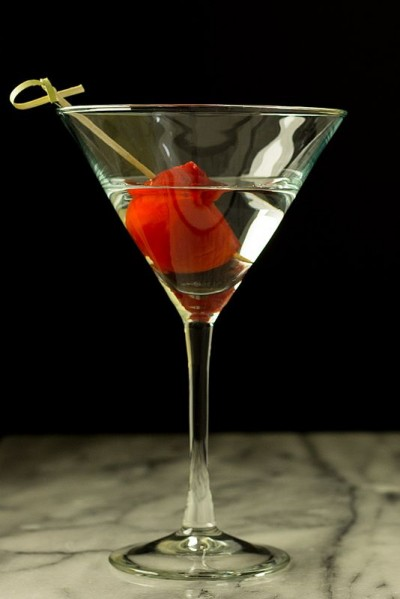 Cherry Pepper Martini