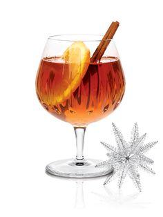 Tea-quila winter cocktail