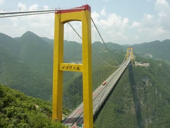 Siduhe Bridge, China