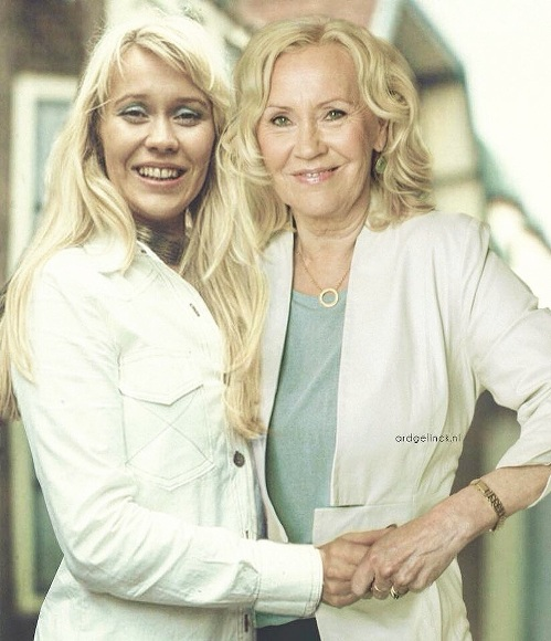 Agnetha Fältskog Then & Now