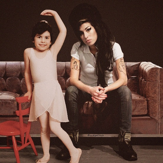 Amy Winehouse Young and Old