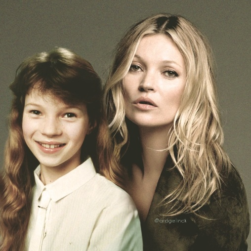 Kate Moss Then & Now