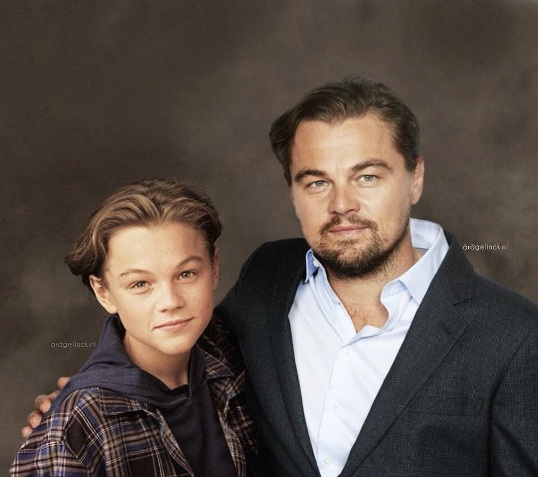 Leonardo Dicaprio Then & Now