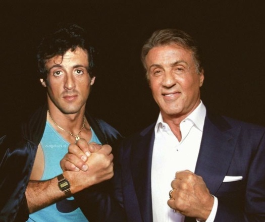 Sylvester Stallone Then & Now